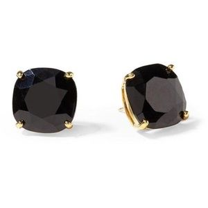 Kate spade square mini black stud earrings.
